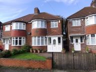 3 bedroom semi detached property in Lulworth Road, Birmingham