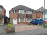 semi detached home in Wichnor Road, Solihull