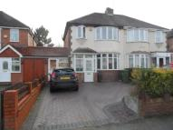 semi detached home in Valley Road, Solihull