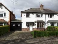 semi detached home to rent in Cole Valley Road...