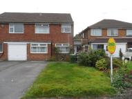 semi detached house in Meadow Croft, Wythall...