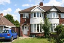 3 bedroom semi detached property to rent in Shepheard Road...