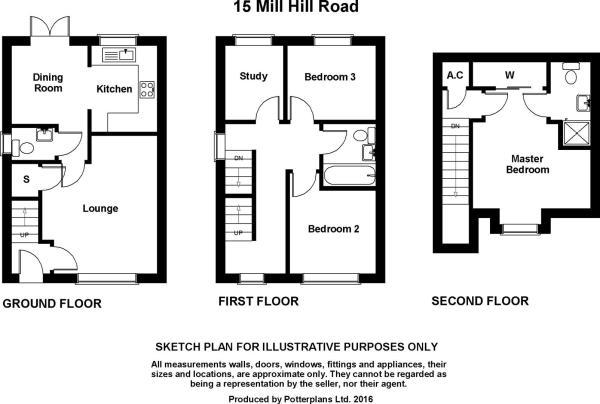 Mill Hill Road Plan.