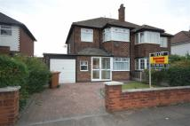 3 bed semi detached house in Greenleas Road, Wallasey...