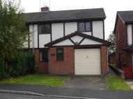 3 bed semi detached home in Llwyn Bach, Ruabon...