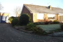 Semi-Detached Bungalow in Bridge Lane, Appleton,