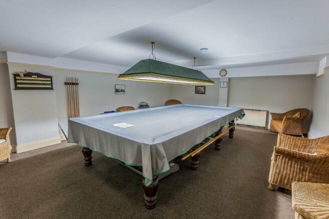 Snooker room