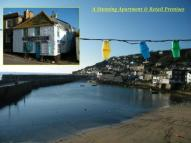 Flat for sale in Quay Street, Mousehole...