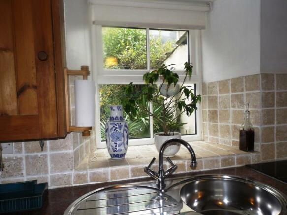 Rear Kitchen View