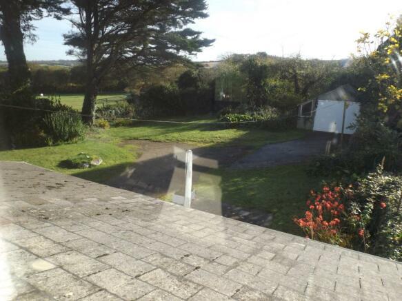 Garden View From Fir