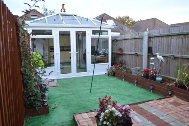 Annexe - Back Garden