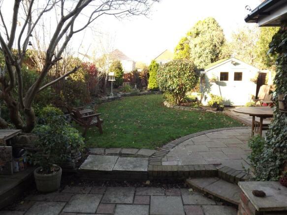 Patio and garden