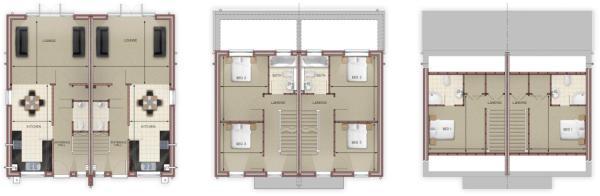 1 & 4 Floorplan