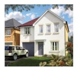 4 bed new house for sale in The Chase, West Hill...