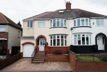 semi detached home in Crabourne Road...