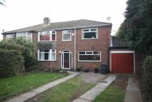 semi detached property to rent in Hurstfield Road, Worsley...