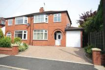 semi detached property in Valdene Drive, Worsley...