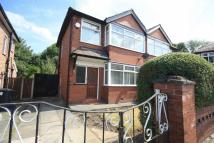 semi detached property to rent in Mesne Lea Grove, Worsley...