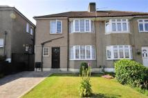 semi detached home in Chalk Pit Avenue...