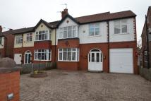 semi detached house in High Grove Road, Cheadle