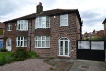 semi detached home for sale in High Grove Road, Cheadle