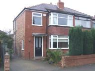 3 bed semi detached home in Argyll Road Cheadle...
