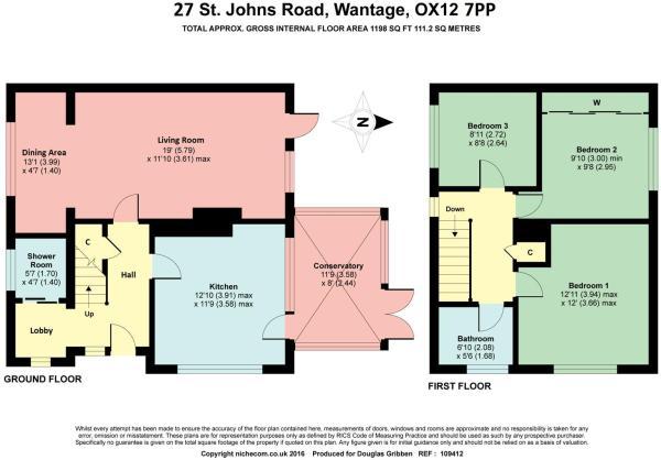 Floor plan 27 ST Joh