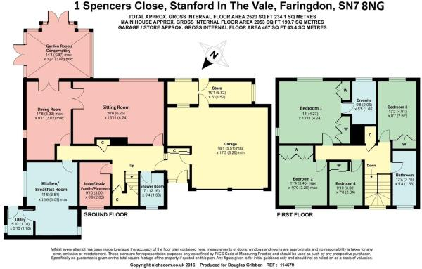 Floor Plan 1 Spencer