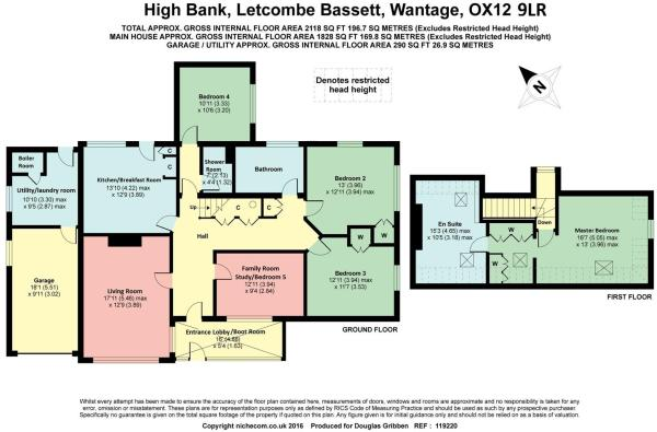 Floor plan High Bank