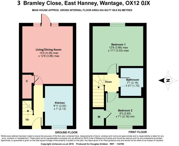 Floorplan 3 Bramley.