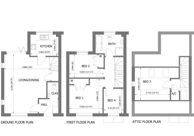 FLOORPLANS PLOTS 7 A