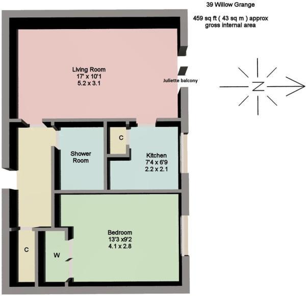 3D Floor plan - USE.