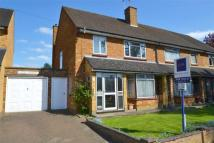 semi detached property in Widgeon Way, Garston...