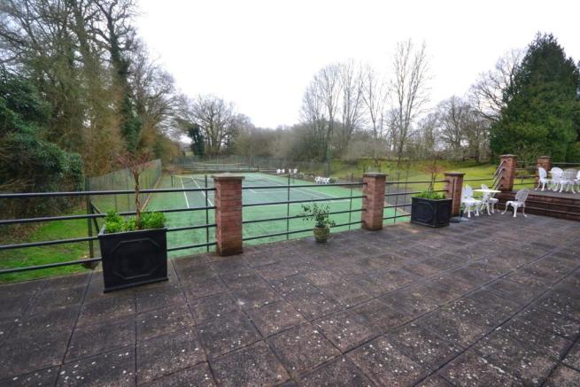Terrace and Tennis C
