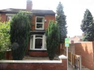 2 bed semi detached home in Carlton Road...