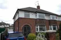 semi detached house in Pipers Lane, Hoole...