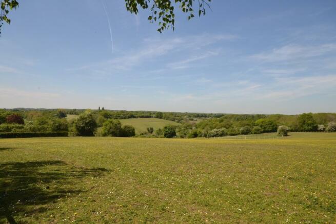 views across valley