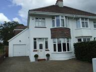 semi detached property for sale in Gower Road, Upper Killay...
