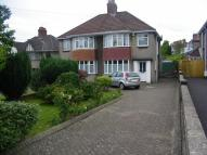 semi detached home for sale in Glan Yr Afon Road...