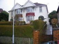 Lon Cedwyn semi detached house for sale