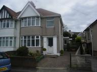 semi detached home for sale in Raglan Road, Sketty...