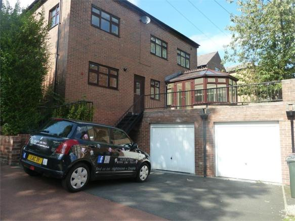 2 bedroom flat to rent in dene terrace gosforth for 105 st georges terrace