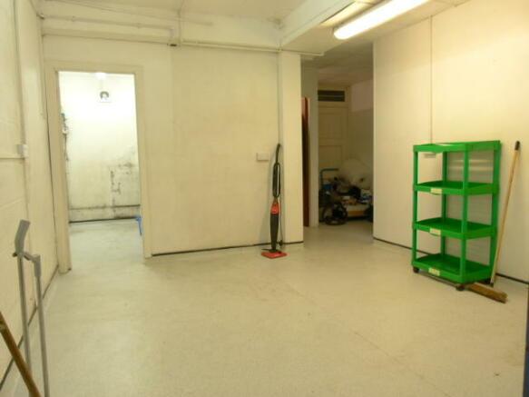 Rear work room