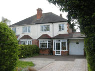 semi detached home for sale in Manor Road, Streetly...