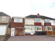 semi detached property for sale in Donegal Road, Streetly...