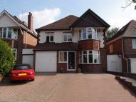 4 bed Detached home in Antrobus Road, Boldmere...