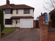 3 bed semi detached property in Antrobus Road, Boldmere...