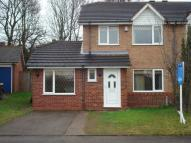 semi detached house in Warrington Drive...