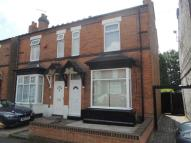 3 bedroom semi detached house in Anderson Road, Erdington...
