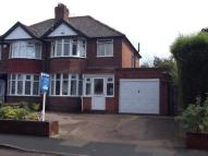 semi detached house for sale in Parkhill Road, Walmley...